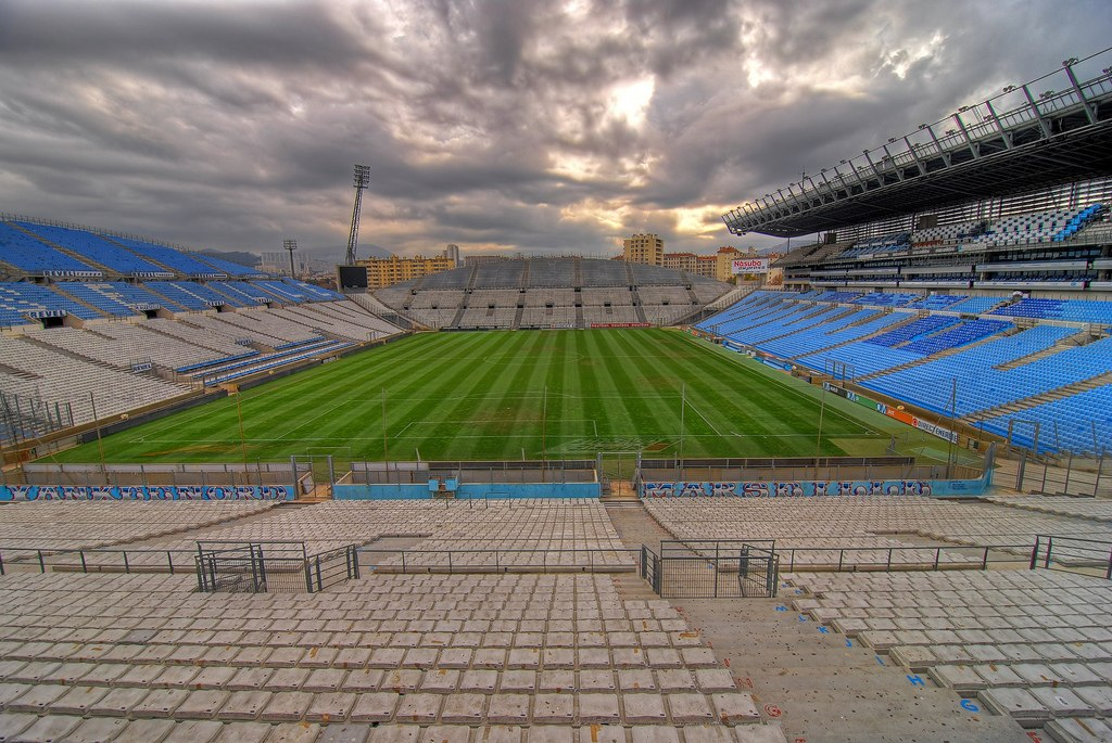 Стадион Велодром (Stade Velodrome). Марсель, Франция.
