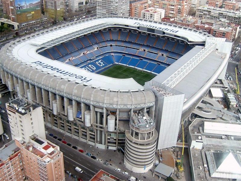 Стадион Сантьяго Бернабеу (Estadio Santiago Bernabeu). Мадрид, Испания.