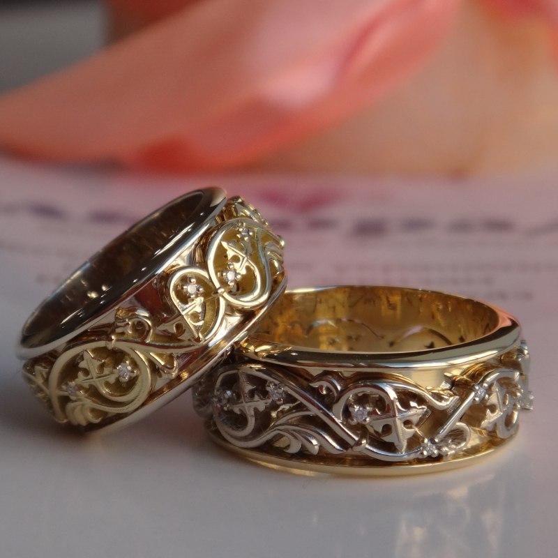 Обручальные кольца, Купить обручальные кольца, Обручальные кольца фото