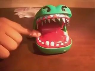 Отгадай на какой зубе закроет пасть