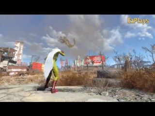 Fallout 4 - TRUE One Punch Man!