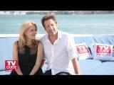 X-Files @ Comic-Con 2013! David Duchovny and Gillian Anderson!