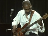Victor Bailey performs a improvised bass solo-