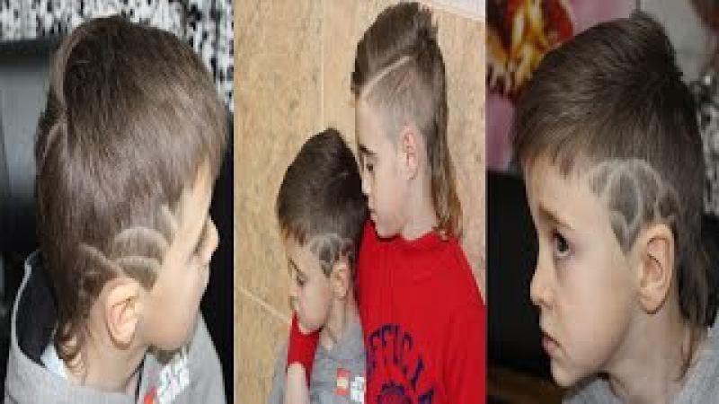 Стрижка машинкой.Easy How to: Men's/Boy's Clipper Hair Cut