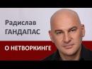 Радислав Гандапас про нетворкинг | Проект Алексея Бабушкина