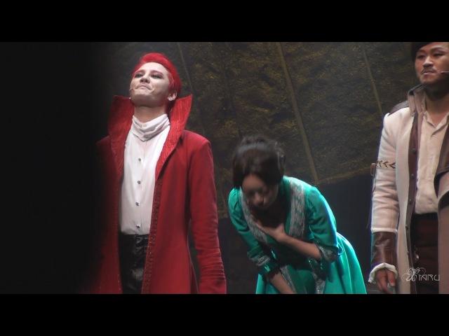 160123 뮤지컬 드라큘라 Dracula 커튼콜 샤큘 준수 XIA Junsu ジュンス