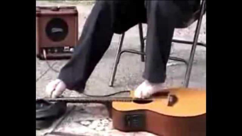 Mark Goffeney - Гитарист без рук