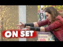 Marvel's Avengers: Age of Ultron: Elizabeth Olsen Scarlet Witch Behind the Scenes Movie Broll