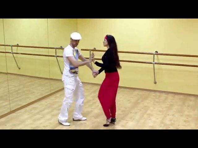 Сальса видео — Урок сальса №6 Paseala por de atras