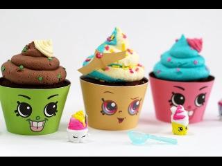 (vk.com/LakomkaVK) Шопкинс капкейки. Shopkins Cupcakes! Queen Cupcake & Cupcake Chic | My Cupcake Addiction