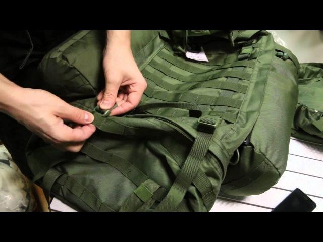[2/2] Тактический рюкзак Splav «Рейдовый 60». Обзор