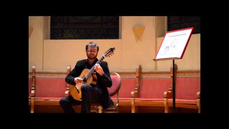 José Antonio Escobar plays Fernando Sor Fantasia Op 30