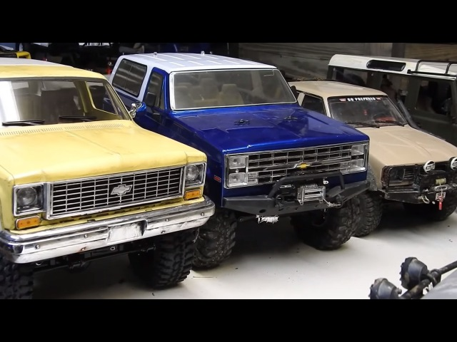 RC4WD vs RCMODELEX comparison videos!