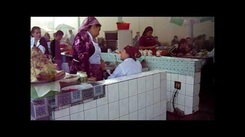 BAZAR IN TASHKENT - UZBEKISTAN = ESKI-JUVA BAZAR ( O.A.J. EKSI-JUVA DEHQUON BOZORI ) 21.10.09.AVI