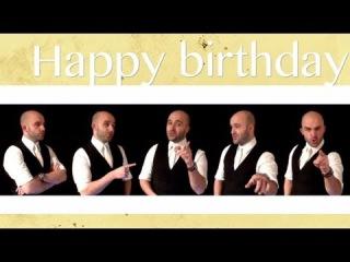 Happy birthday (*NSYNC) - A cappella