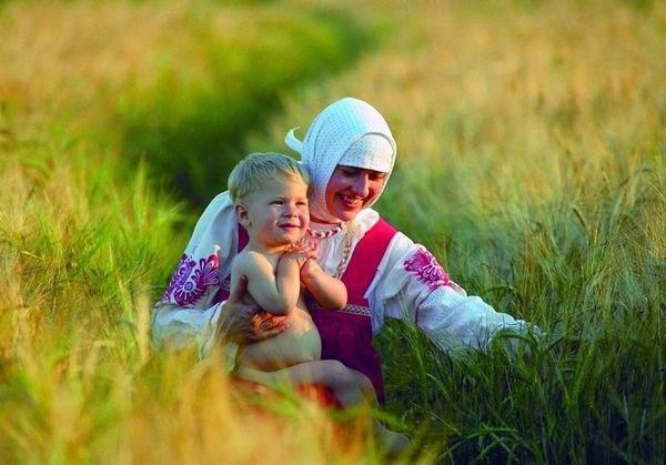 Встреча малыша с матерью