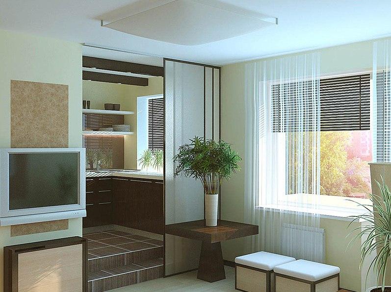 Два проекта квартиры-студии 30 м.