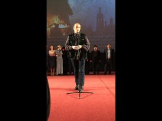 Иван Охлобыстин на премьере фильма