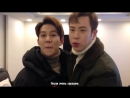 P.O Kyung Support Message for Zico's Gallery 151205 [rus]