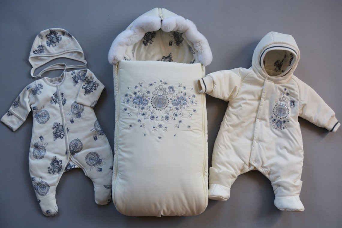 Конверт на выписку для новорожденного зимой своими