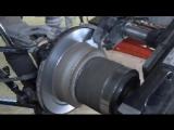Проточка тормозного диска без снятия
