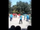 Танец на день здаровя под песню тока тока наш класс 6 б