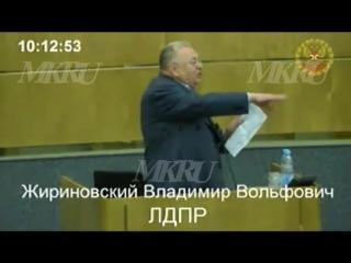 Жириновский оскорбил Роднину и назвал Единую Россию партией преступников