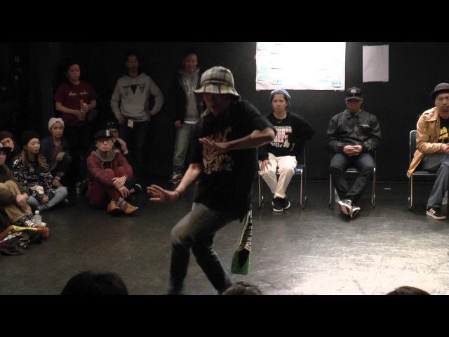 Miyaru vs TORI BEST8 / funkin'lady vol.2 FEMALE POP BATTLE