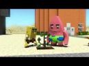 Спанч Боб в Minecraft. 1 сезон 3 серия Голодовка