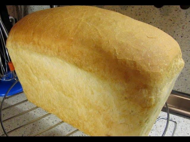 Белый хлеб Кирпичик на опаре в духовке от Едокоff