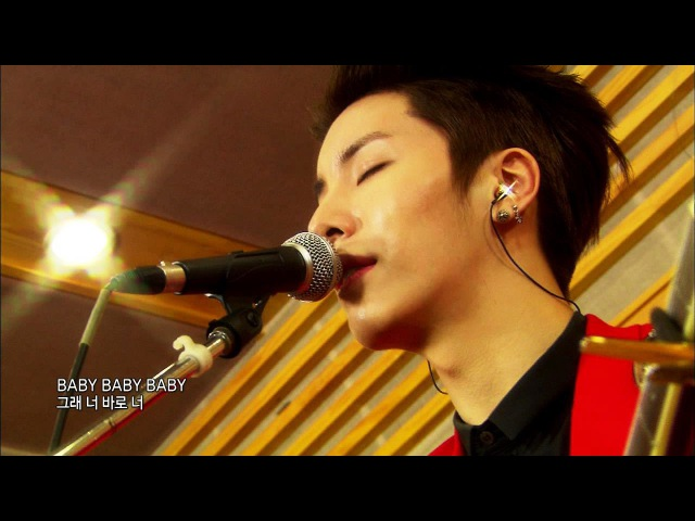 Global Request Show : A Song For You - Baby by No Minwoo (2013.09.06)