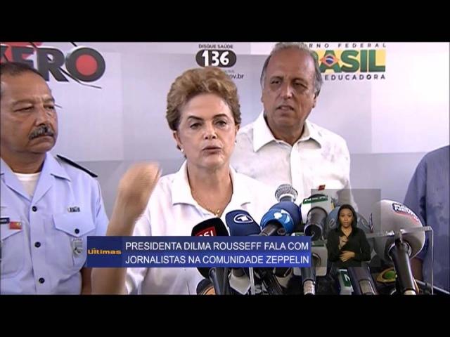 A presidenta Dilma inventa a mosquita