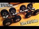 [RC] How It's Made - Tatra 813 KOLOS 8x8 1:10 Scale