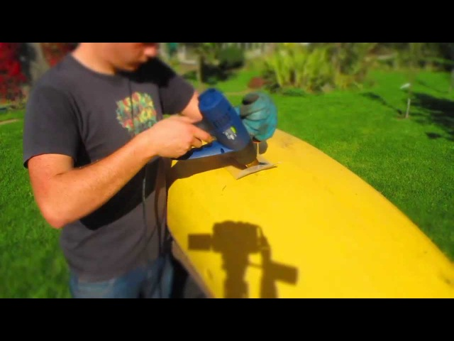 How to Weld a Kayak with a Wire Mesh | Plastic Welding.