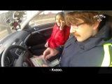 В Минске парень сделал необычное предложение девушке с помощью ГАИ