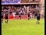 Gol de placa de Marcelinho - Campeonato Paulista 1996 - Santos 2 x 2 Corinthians