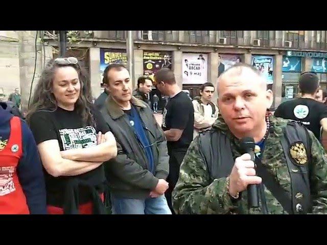 Sergej, Kanabis, PTSP i život! Svetski Dan Marihuane, Beograd 20. 04. 2015