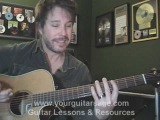 Guitar Lessons - Overkill by Men at Work &amp Colin Hay - cover chords Beginners Acoustic songs