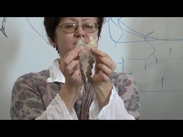 Т Хохлова о диких шарфах Выступление на Лаборатории в студии Шкатулочка