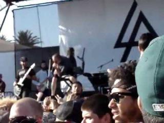Linkin Park w/ Mike Hranica Jeremy DePoyster - Guilty All The Same (live)