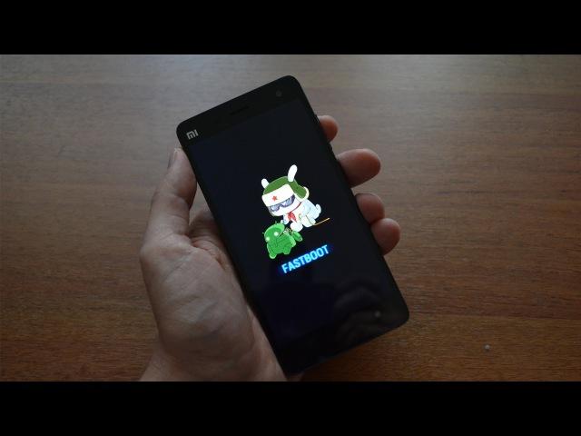 Установка прошивки MIUI в режиме FASTBOOT Xiaomi Mi4 смотреть онлайн без регистрации