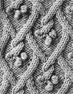 Узор спицами — Шишечки (6 фото) - картинка
