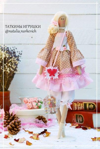 Кукла в стиле Тильда — Анжелика (6 фото) - картинка