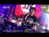 11.08.15 SBS MTV The Show Jung JoonYoung Band - Intro+OMG