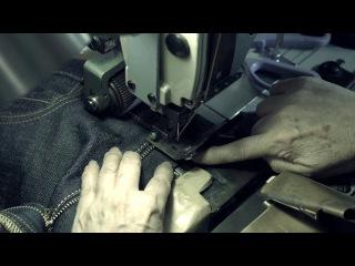 Изготовление джинсов Momotaro - 6/6 Обрезка и рисунок