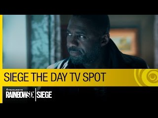 Tom Clancy's Rainbow Six Siege Official - Siege The Day - TV Spot ft. Idris Elba [US]