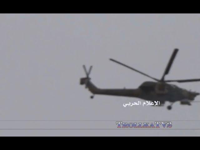 ВКС применили в Пальмире лучшие в мире ударные вертолеты Ми 28Н Сирия