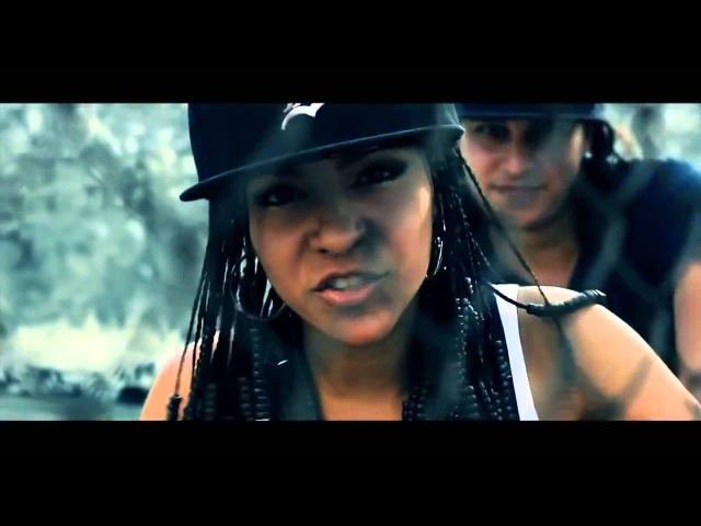 Рэп читка девушки из Латинской Америки