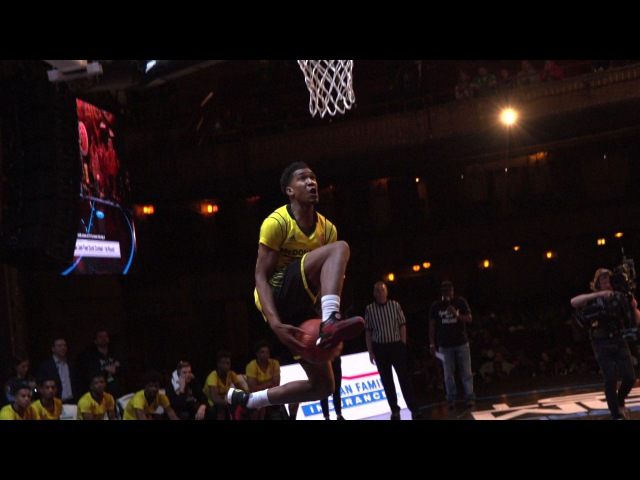 Malik Monk between the legs dunk at the McDonald's All-American Game