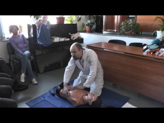 Лекция от 28.05.2013, тема - оказание первой медицинской помощи. Калининград